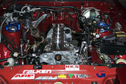 Supra Engine Bay Paint