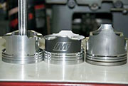 Supra Piston Comparison JS Wiseco Toyota