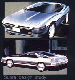 Toyota Supra History Timeline MkI MkII MkIII MkIV MkV