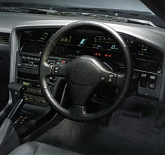 Toyota Supra Digital Dash